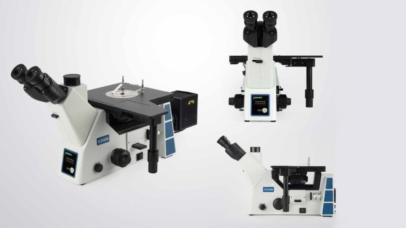 ICX41M inverted metallurgical microscope